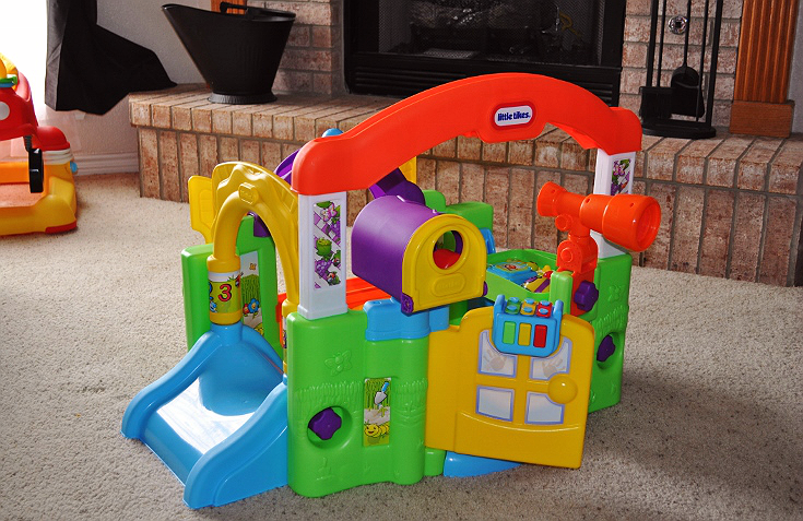 Momma Told Me Stimulate And Grow With The Little Tikes Activity