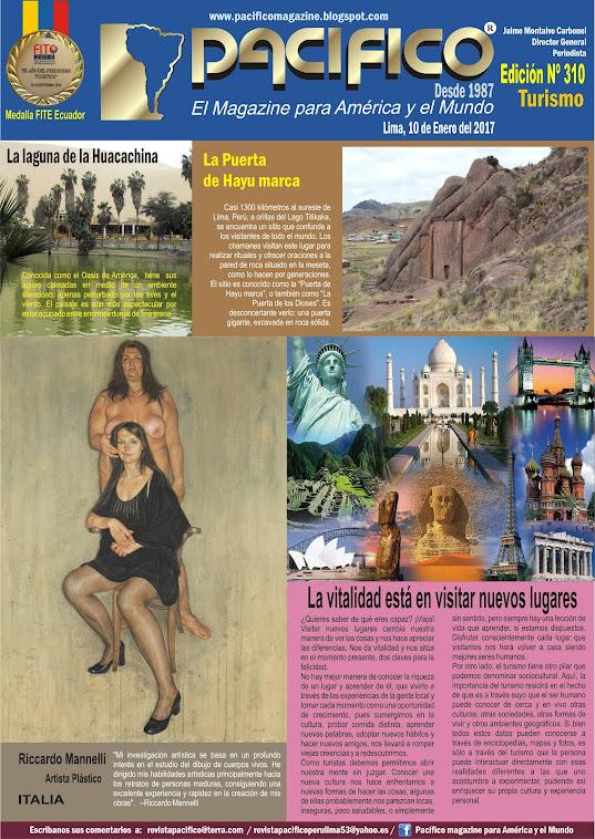 Revista Pacífico Nº 310 Turismo