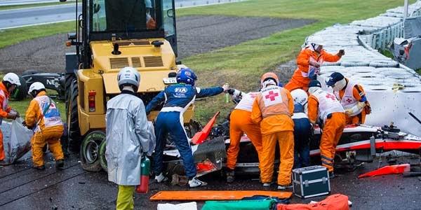 Menjelang Detik-detik Kecelakaan Yang Dialami Bianchi