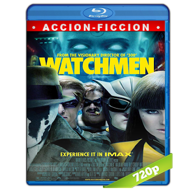 Watchmen Los Vigilantes (2009) BRRip 720p Audio Trial Latino-Castellano-Ingles 5.1
