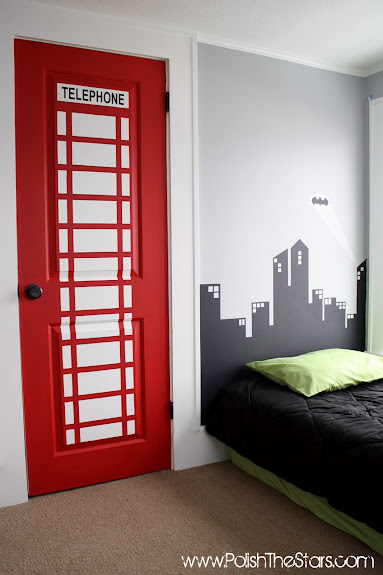 Controlling craziness inspiration for the weekend 28 for Superhero bedroom decor