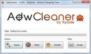 Hapus Virus Sweet-Page, ValueDealShopper, Canadaalltax dengan Adware Cleaner