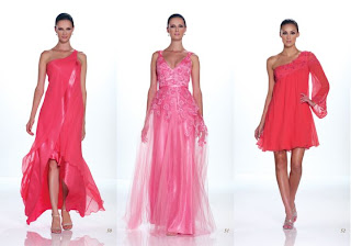 Vestidos Kathy Hilton 2012 color Coral