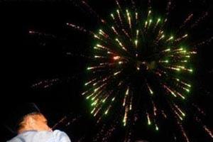 kembang api maros 2013