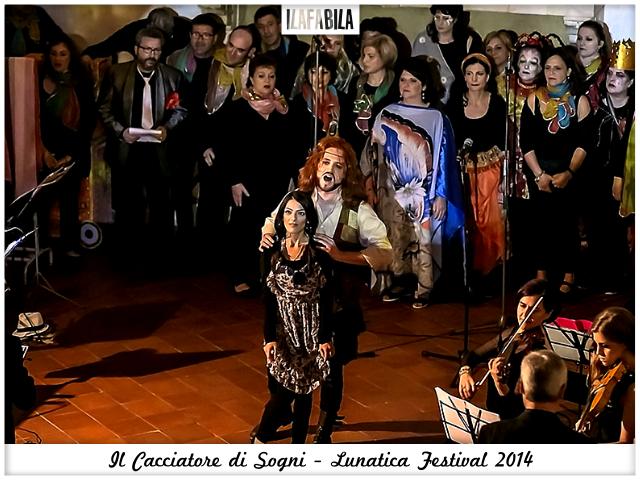 Il Cacciatore di Sogni - Ragazzo e Violetta - Lunatica Festival 2014