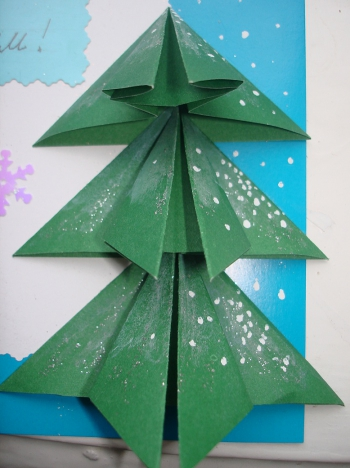 Como hacer una tarjeta de navidad f cil y bonita - Como hacer targetas de navidad ...