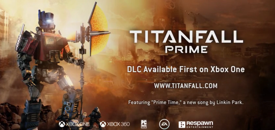 titanfall optimus prime güncellemesi