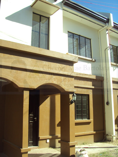 Bayswater Subdivision Mactan Cebu House and Lot For Sale - Gumamela Unit Ready for Occupancy Townhouse