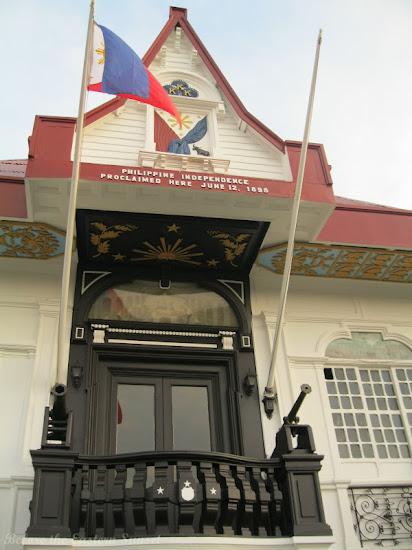 Historic balcony of Aguinaldo Shrine