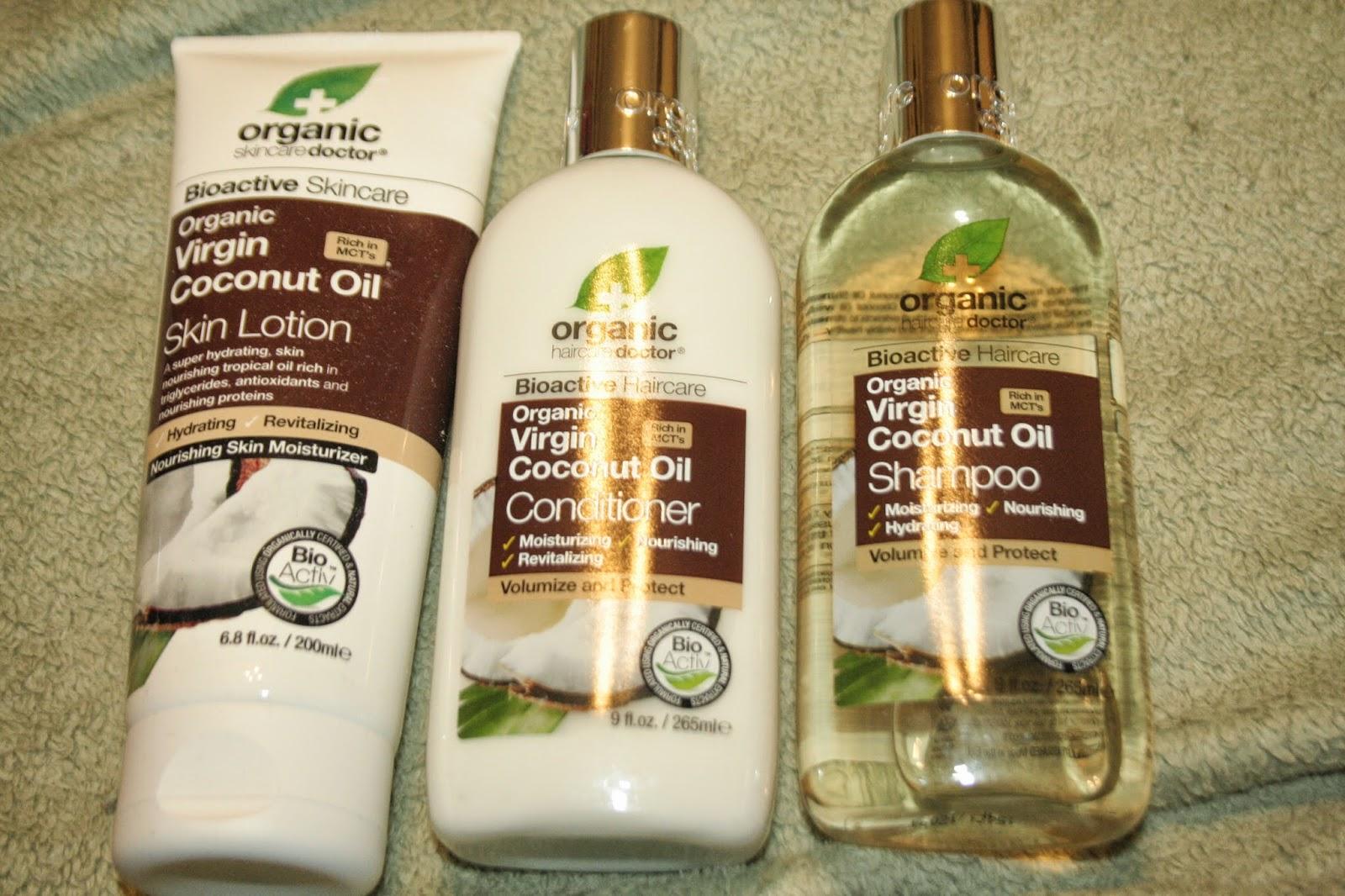 dr organic coconut shampoo