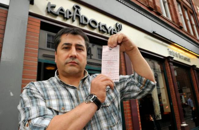 Waiter Predicts £1M Lottery Win In A Dream