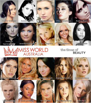 Miss World Australia 2011 will be crowned on August 26, 2011 - Meet the finalists