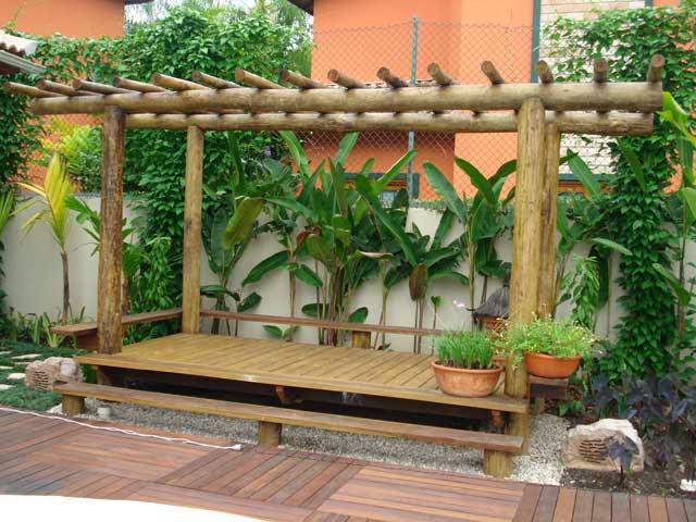 Jardim de stefania p rgola - Plantas para pergolas ...