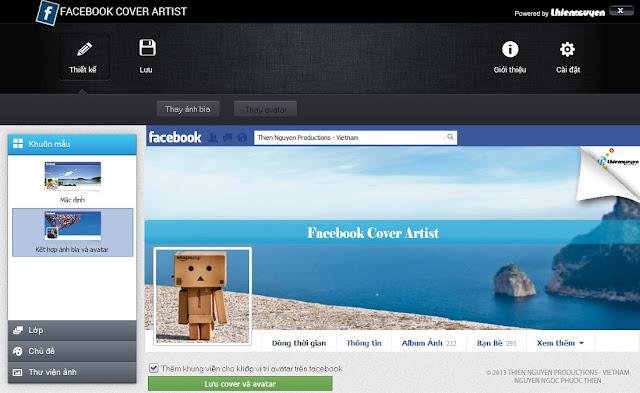Cách tạo ảnh bìa Facebook theo phong cách riêng của bạn