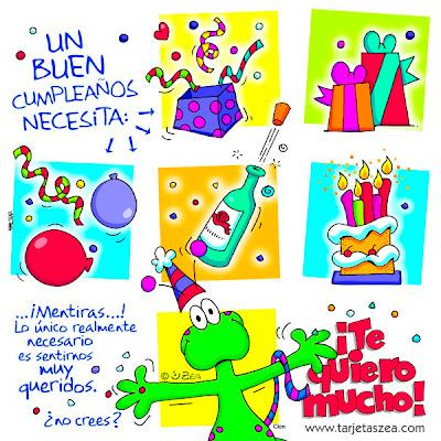 Frases Para Cumpleaños: Un Buen Cumpleaños Necesita