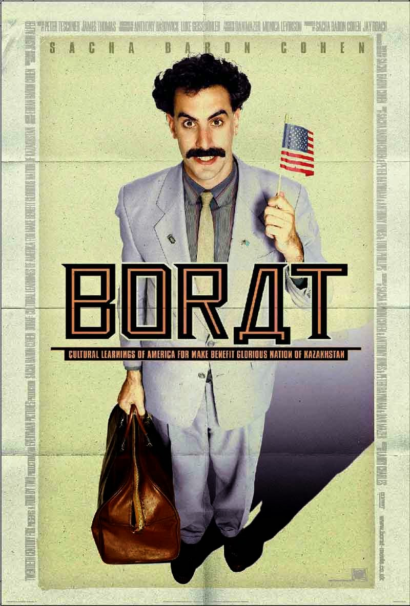 Tay Phóng Viên Kỳ Quái - Borat: Cultural Learnings of America for Make Benefit Glorious Nation of Kazakhstan (2006) Poster
