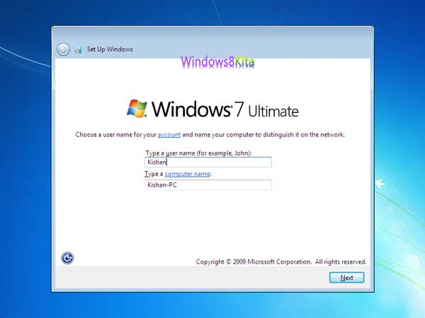 Panduan Cara Instal Windows 7 step 21