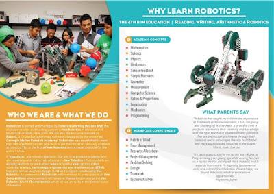 Bengkel Robotik VEX Roboticist di The School
