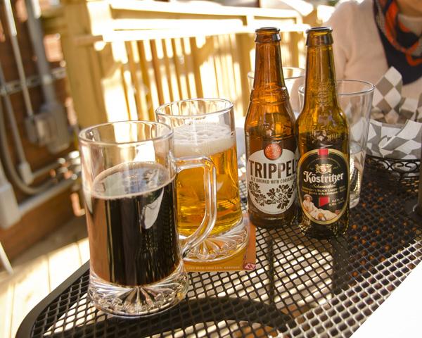 Beer at Viener Fest German restaurant in Nashville Tennessee
