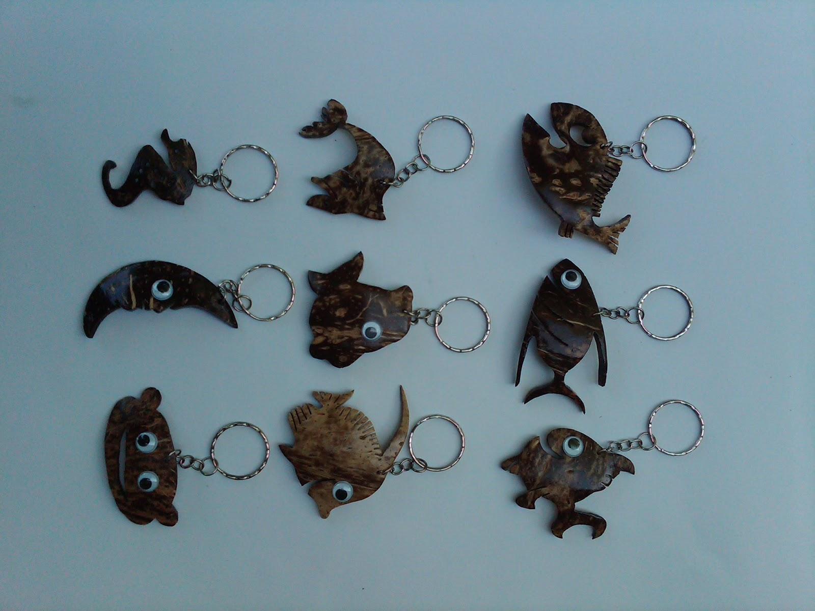 Batok Craft Solo Gantungan Kunci dari Batok