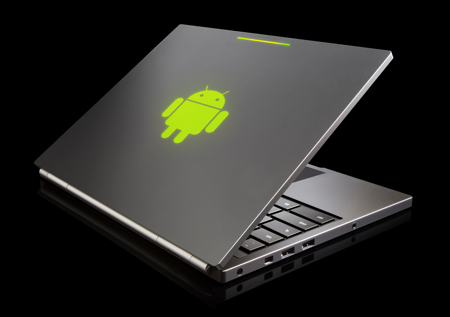android on laptop