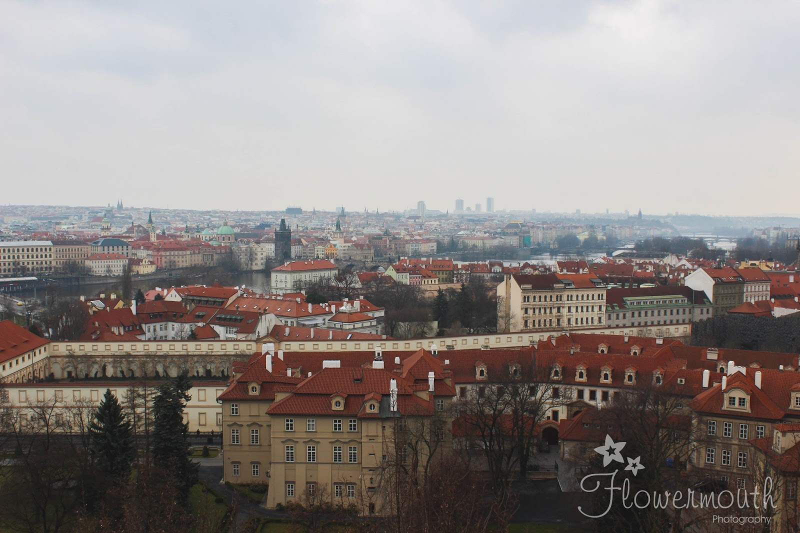 Prague views from the castle complex