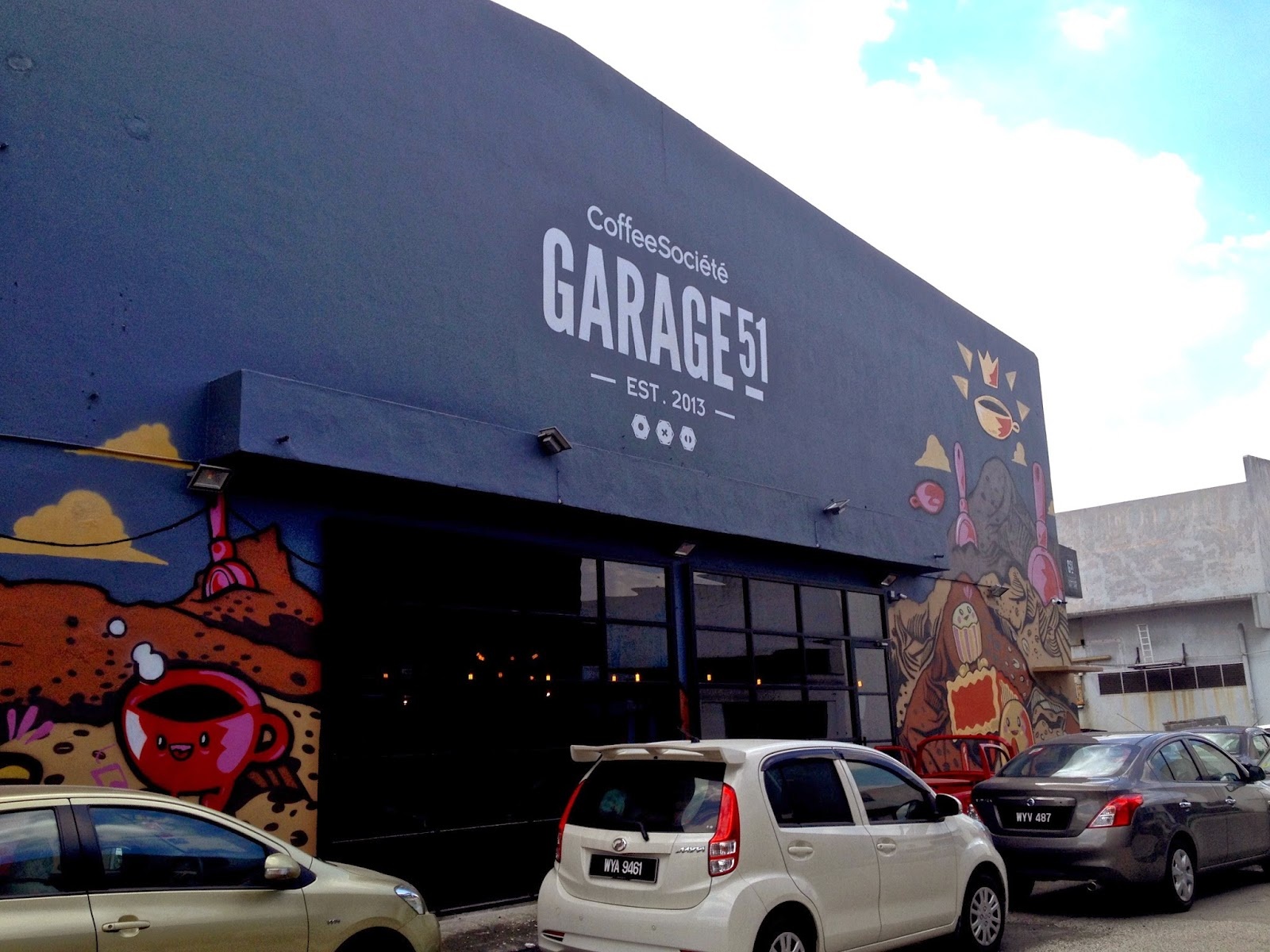 garage 51 malaysia. i expect this kinda service here in melbourne but never malaysia lor to be honest big thumbs up the people at garage 51