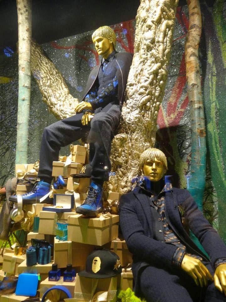 Selfridges Magical Enchanted Christmas Shop Window 2014