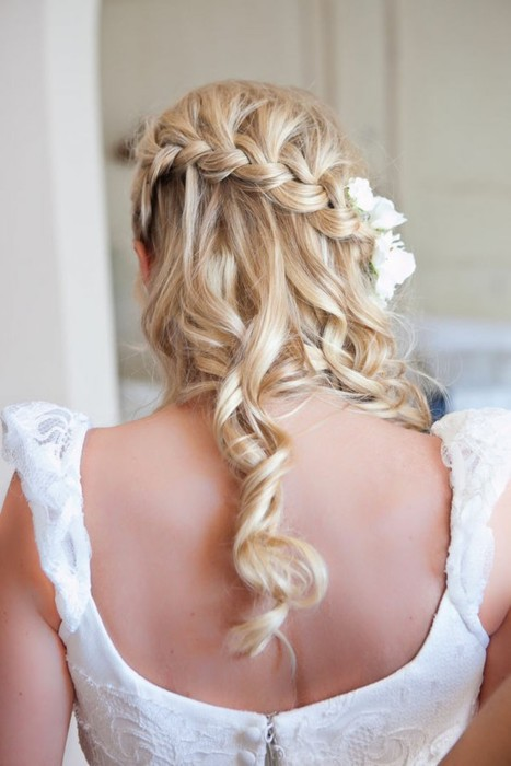Waterfall Braid Hairstyles