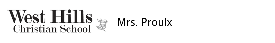 Mrs. Proulx's Classroom Website