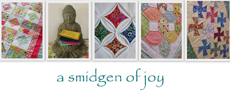 a smidgen of joy