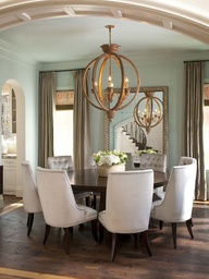 And Yes You Can Use A Rectangle Rug Under Round Table The Size