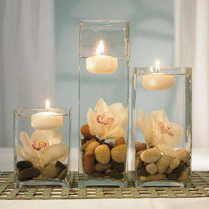 Candle Wedding Centerpieces
