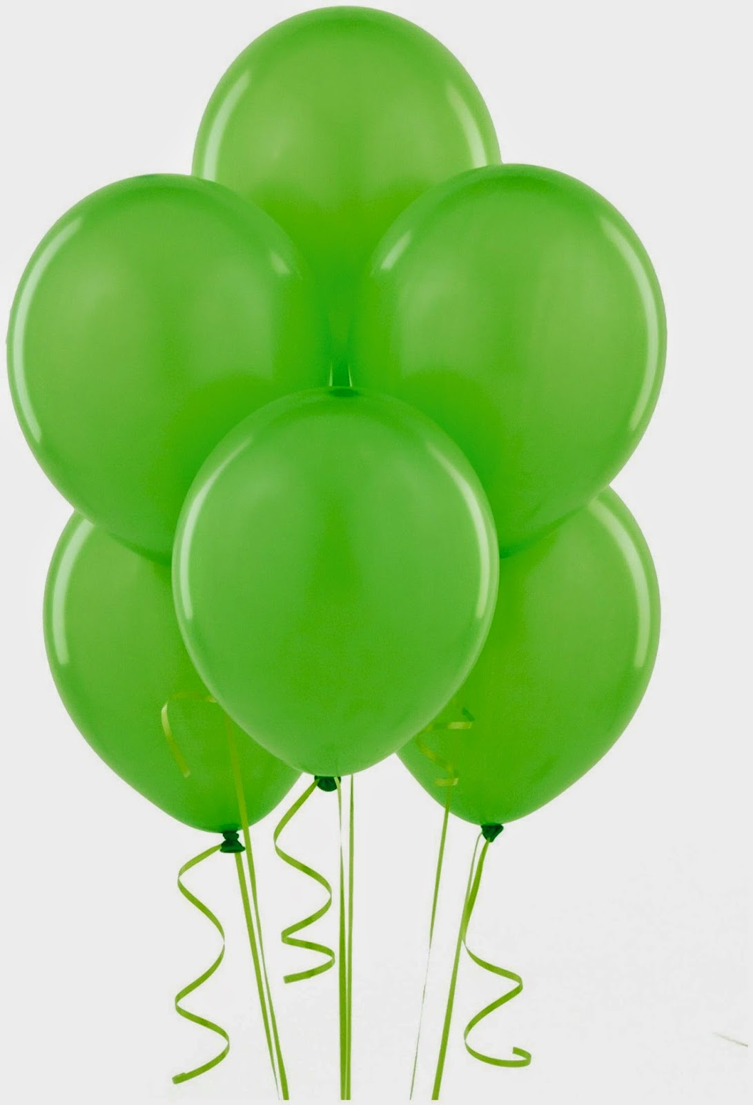 Green Balloon Decorations