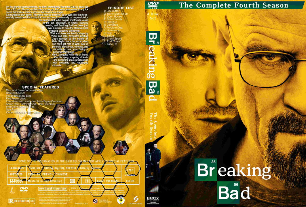 descargar breaking bad temporada 4 subtitulada