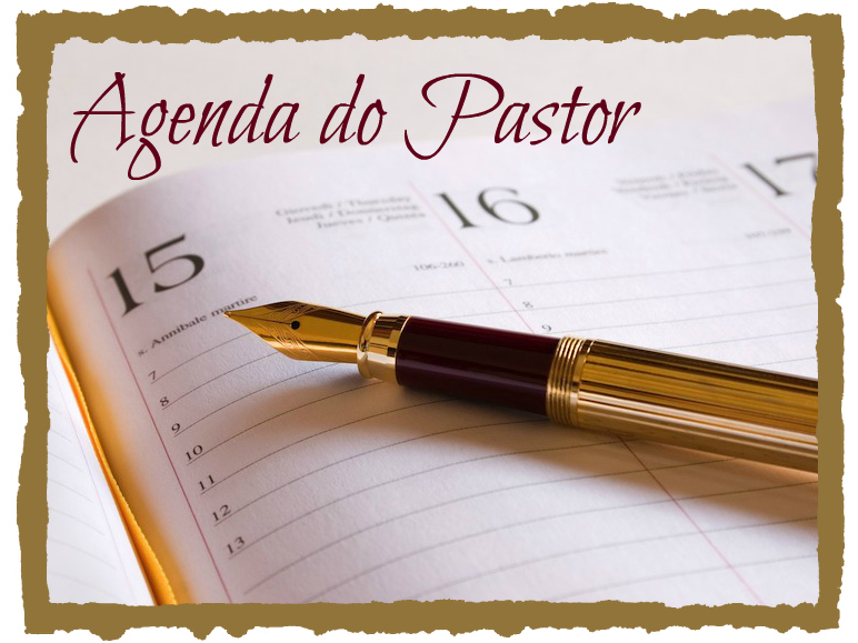 Agenda do Pastor