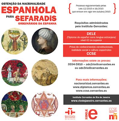 Nacionalidade espanhola para sefaraditas