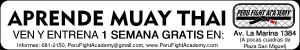 Entrena Muay Thai Gratis