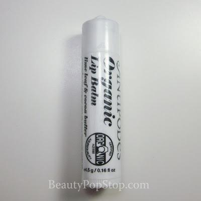 Antipodes Organic Lip Balm Review