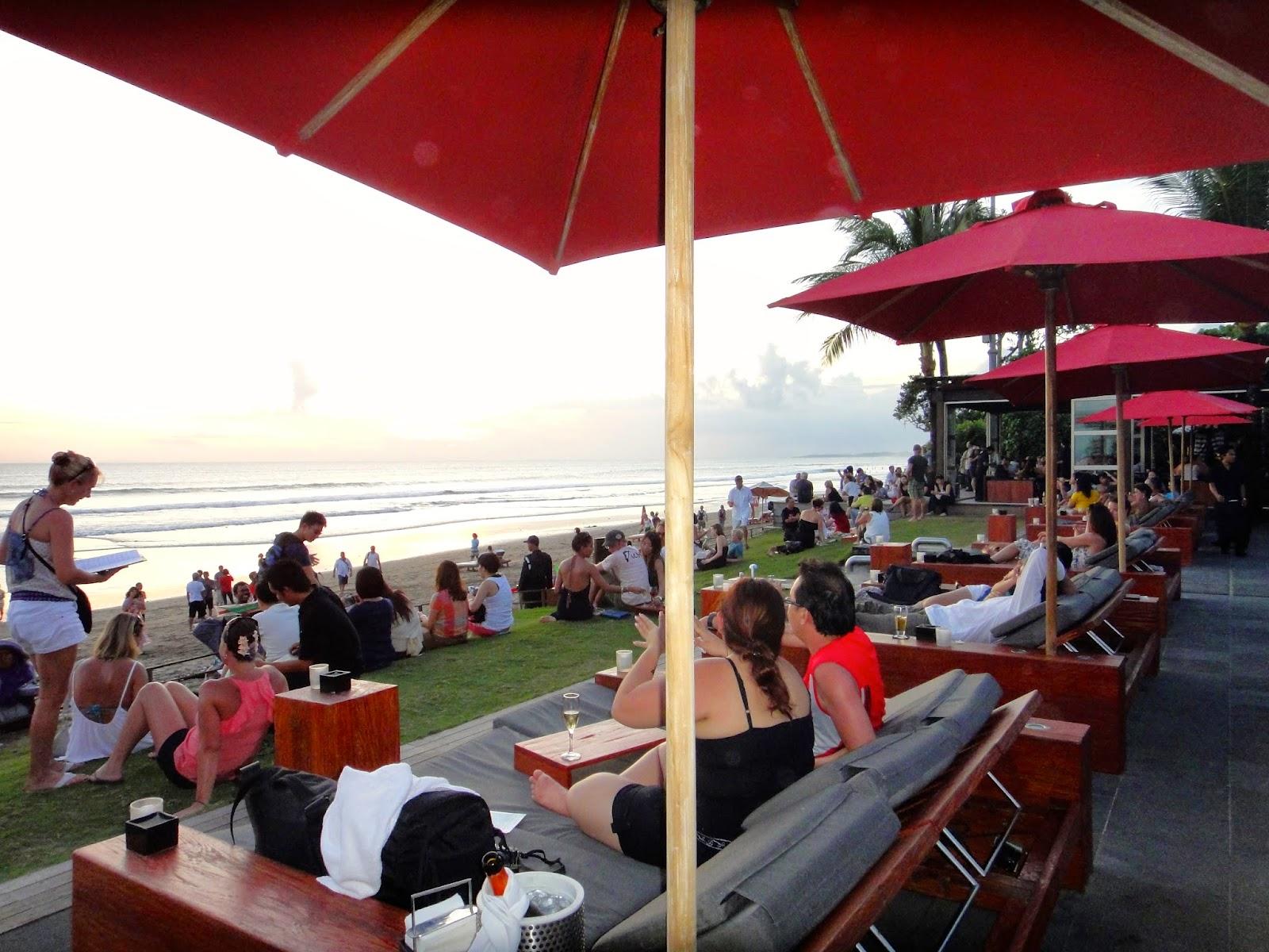 Ku de Ta Seminyak Bali Sunset Watching Spot