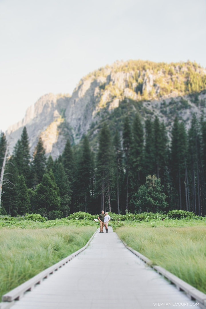 """engagement photos in yosemite"""