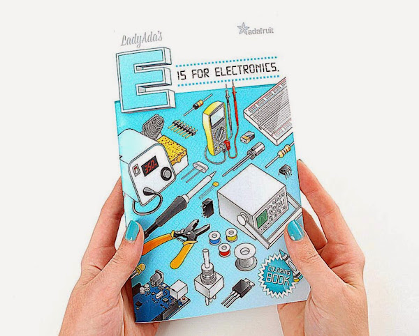 Coloring book Ladyada39s E is for electronics ID 1000 995