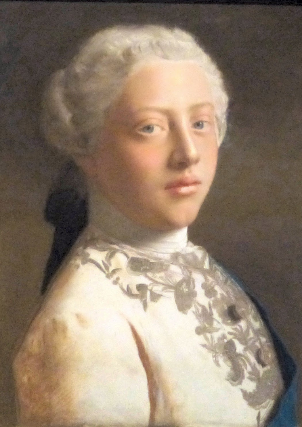 George III by Jean-Étienne Liotard (1754) - on display at the First Georgians exhibition