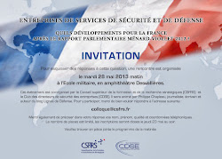 Invitation colloque du CSFRS du 28 mai