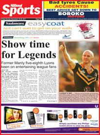 Kandep my home show time for legends for Kr motors port moresby