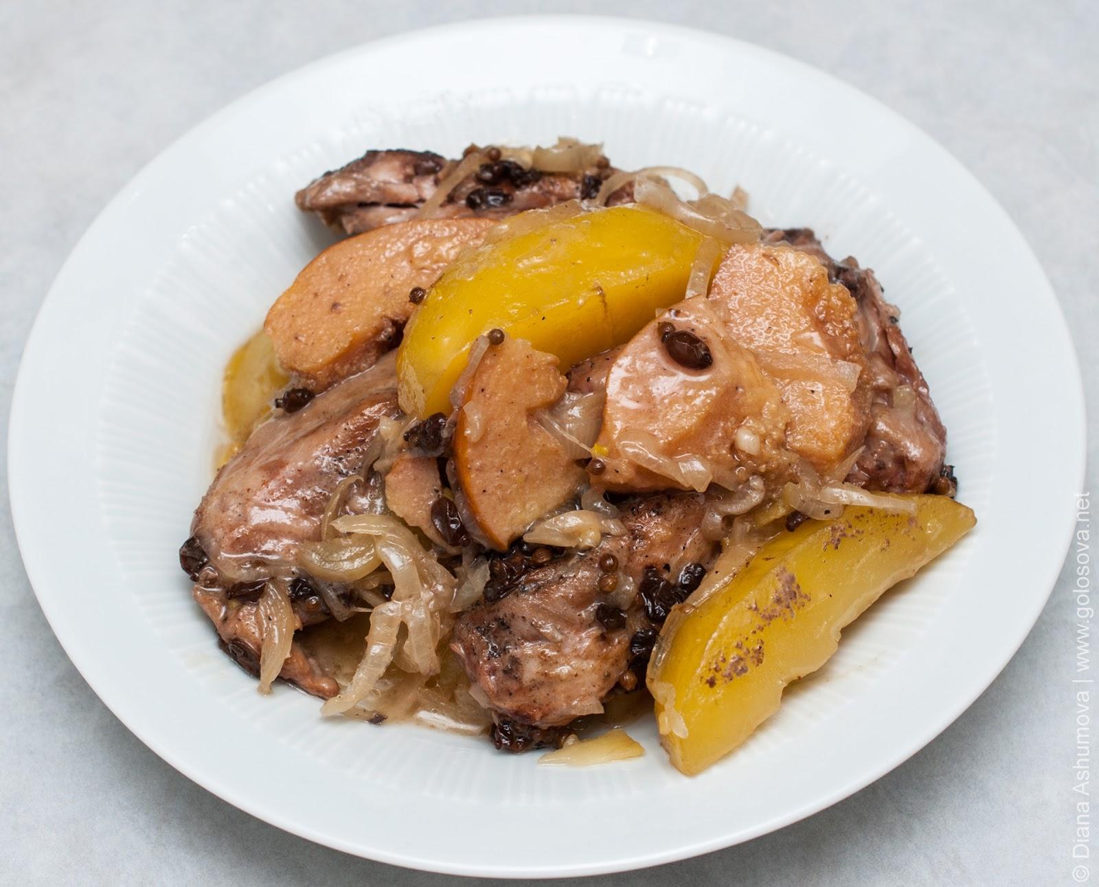 мультиварка рецепт тушеная курица с