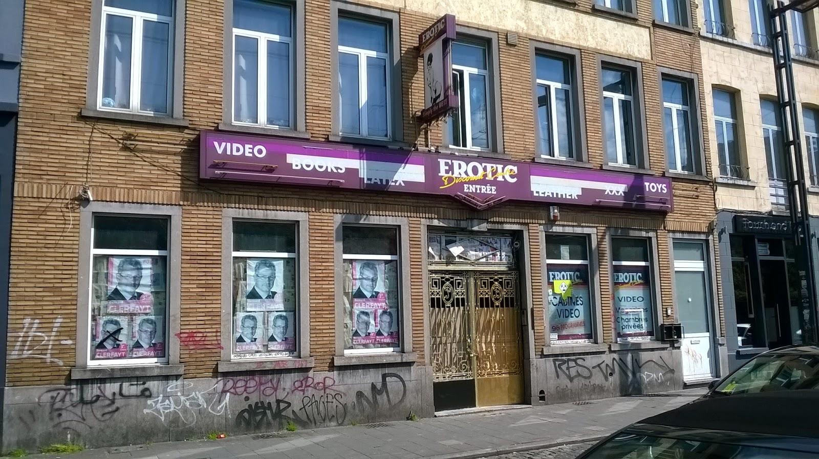 Resultado de imagen de gare du nord bruxelles vitrines