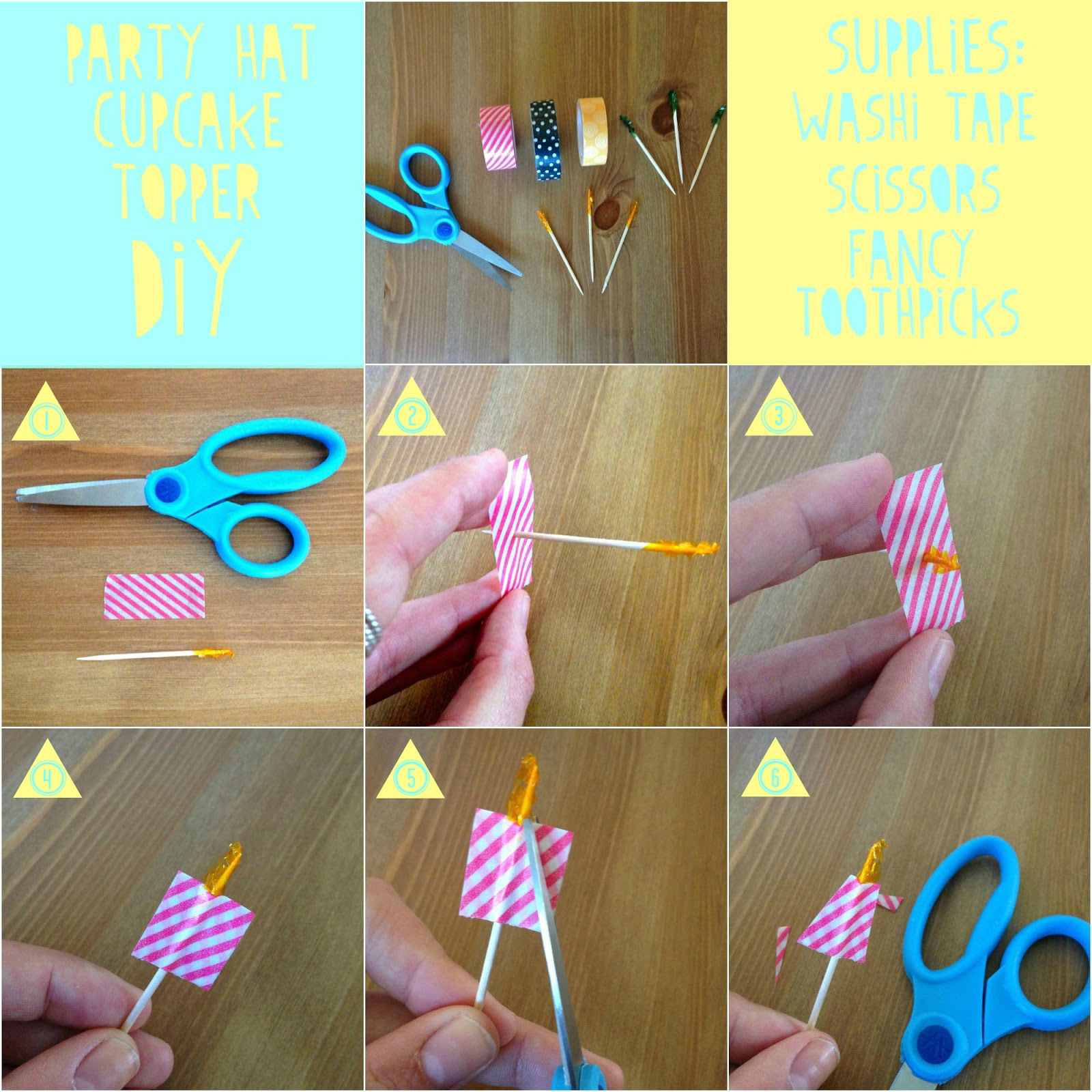 Todays DIY Project Is A Fun Little Cupcake Topper That SO Fast And Easy You More Than Likely Have Everything On Hand Already