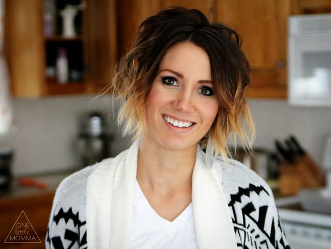 Short ombre hair- wavy