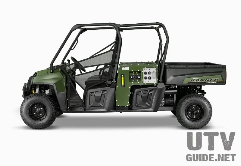 Polaris RANGER CREW Diesel with HIPPO MPS